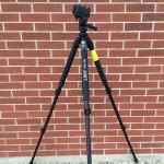 Reaper Grip pan tilt head full SLIK AMT Pro 700DX aluminum tripod kit